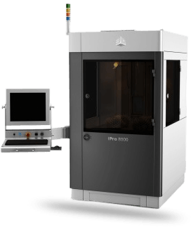 SLA Rapid Prototyping - 3D Printing Services - iPro-8000 - 3D Systems